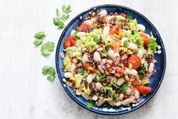 Salade de Haricots Tarbais et quinoa - Dorian Nieto