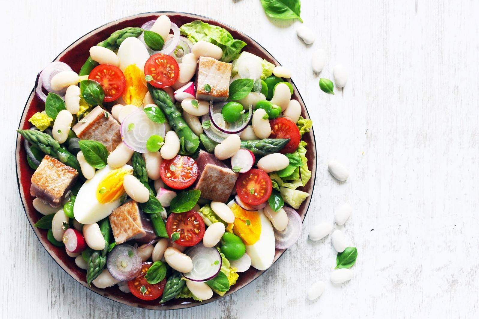 Salade nicoise aux Haricots Tarbais - Dorian Nieto