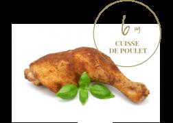 cuisse de poulet 6μg de vitamine b9