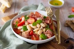 Salade italienne aux haricots tarbais - Confit Banane